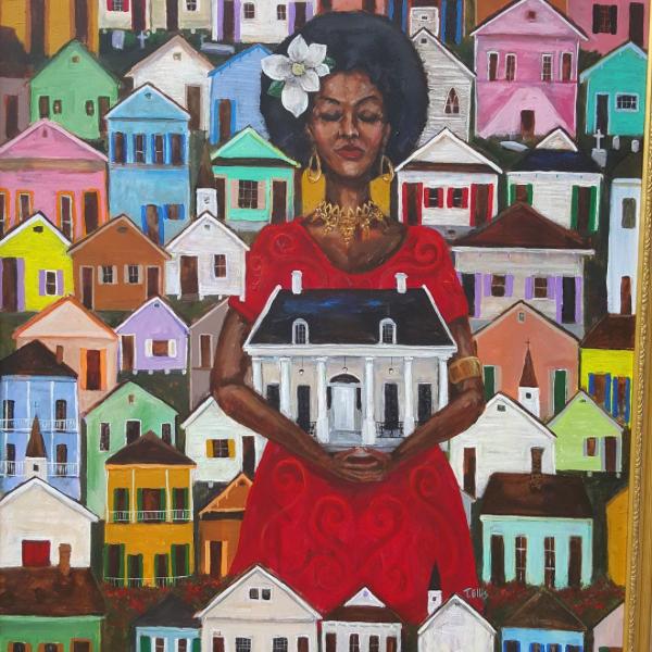 Painting by Ted Ellis
