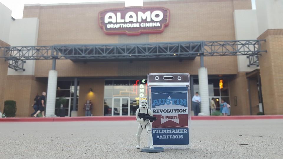 Dave outside the Alamo ARFF 2016