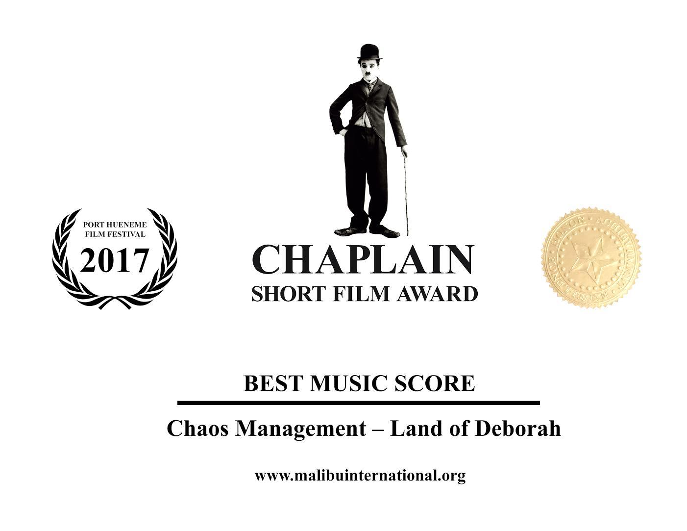 Chaplain Award Best Score 2017