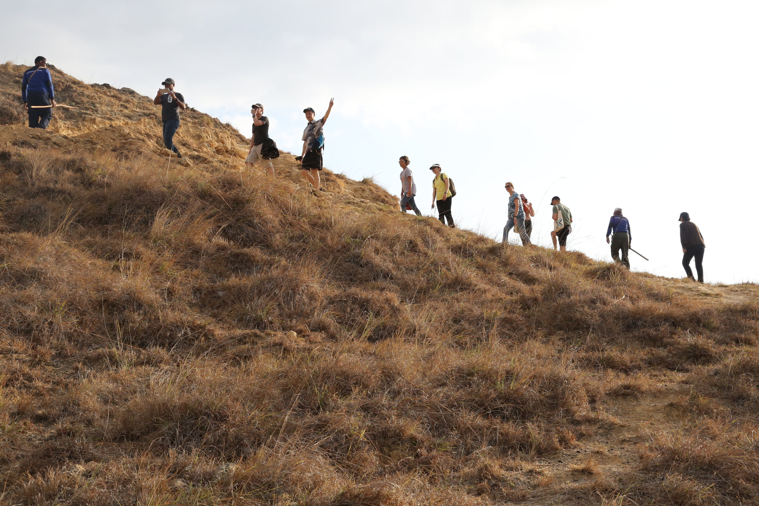 Fellows on Komodo island in Indonesia. Photo: The Equity Initiative