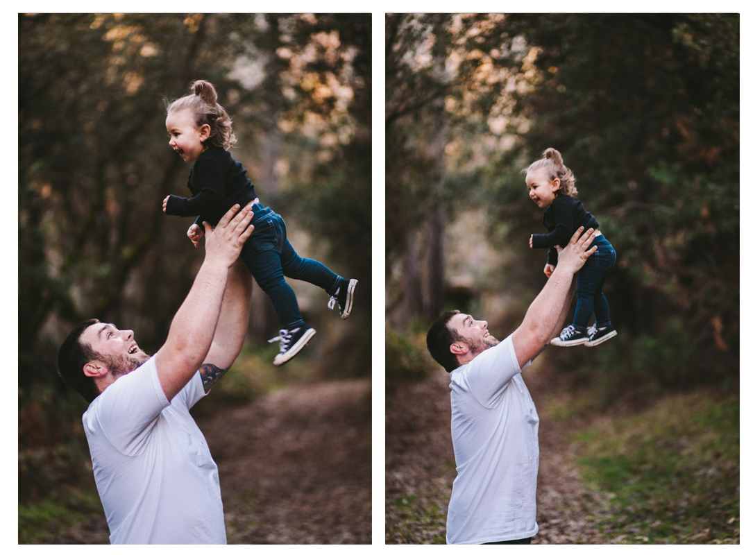 Dad & Daughter Quality Time in Tuolumne County Family Photography
