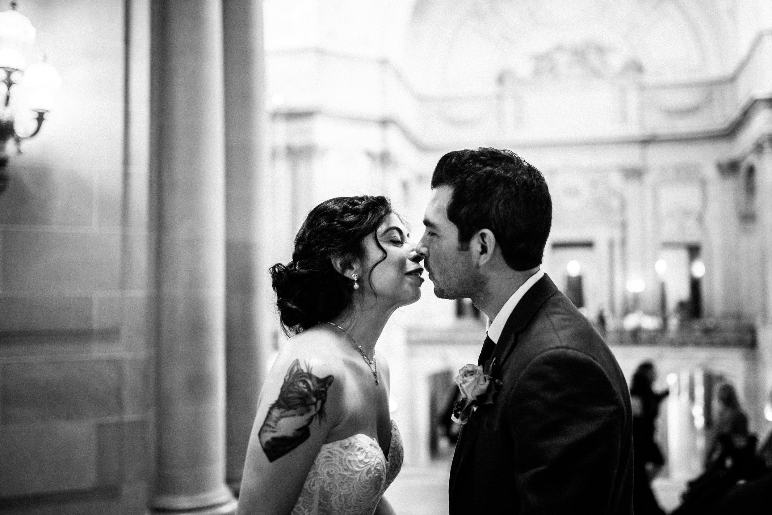 San Francisco City Hall & Stable Cafe Wedding Photography 218.jpg