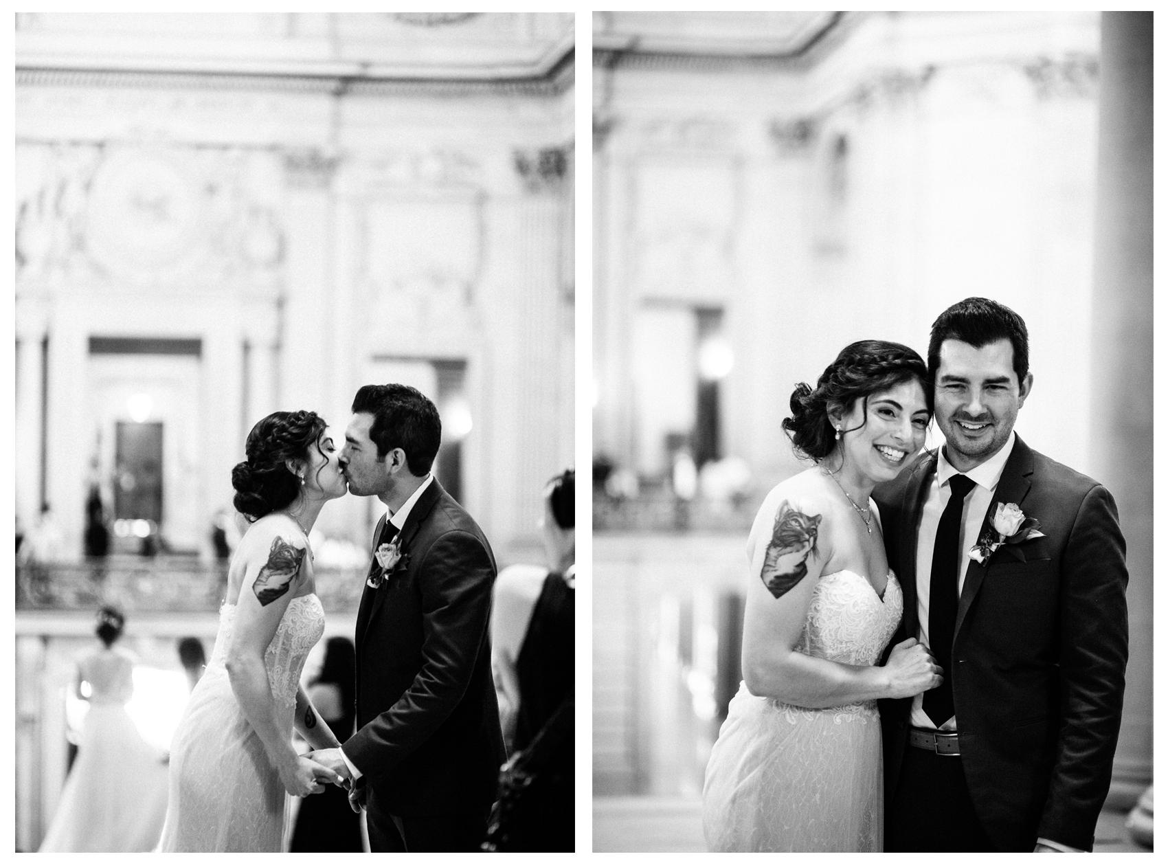 San Francisco City Hall & Stable Cafe Wedding Photography Double 5.jpg