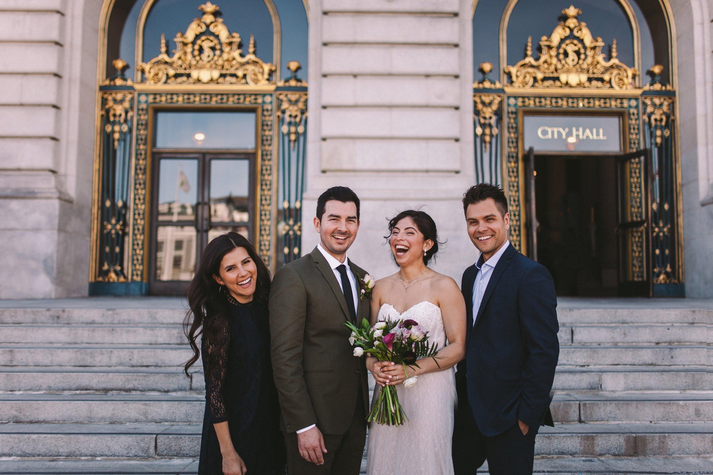 San Francisco City Hall & Stable Cafe Wedding Photography 324.jpg