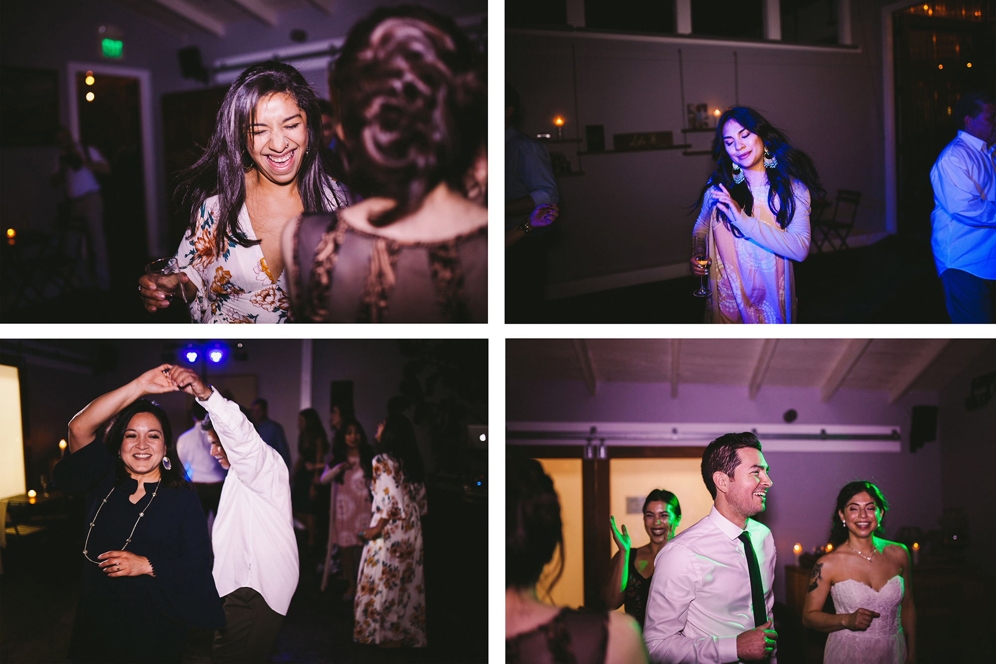 San Francisco City Hall & Stable Cafe Wedding Photography 4 Collage.jpg