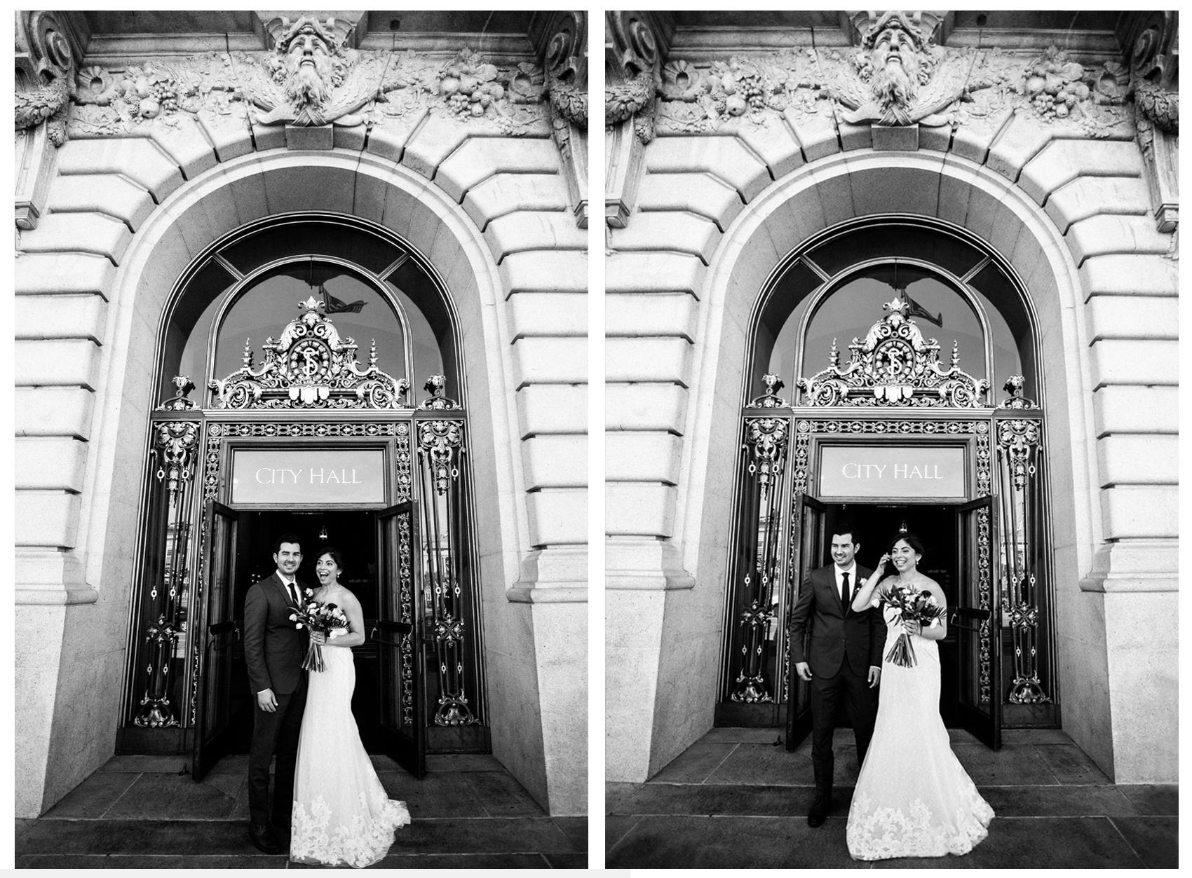 San Francisco City Hall & Stable Cafe Wedding Photography Double 6b.jpg