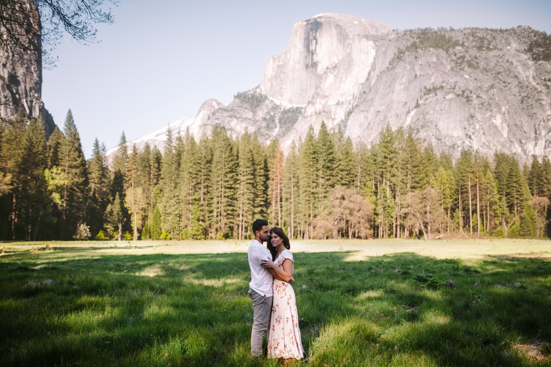 Half Dome Engagement Session