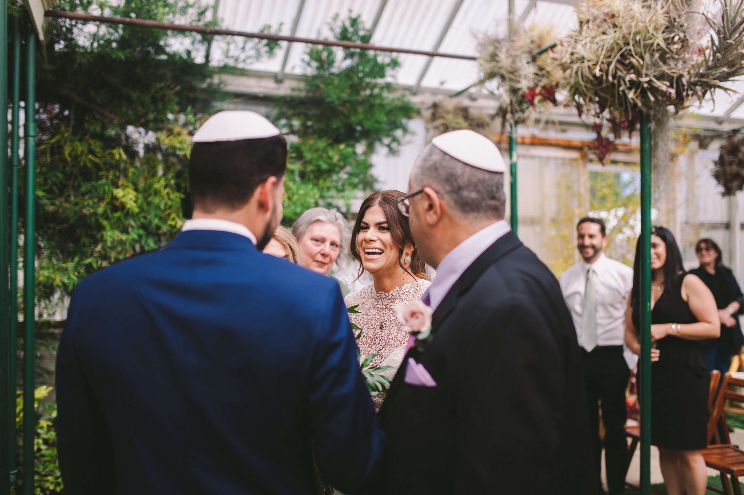 Shelldance Orchid Gardens Jewish Wedding Ceremony Pacifica