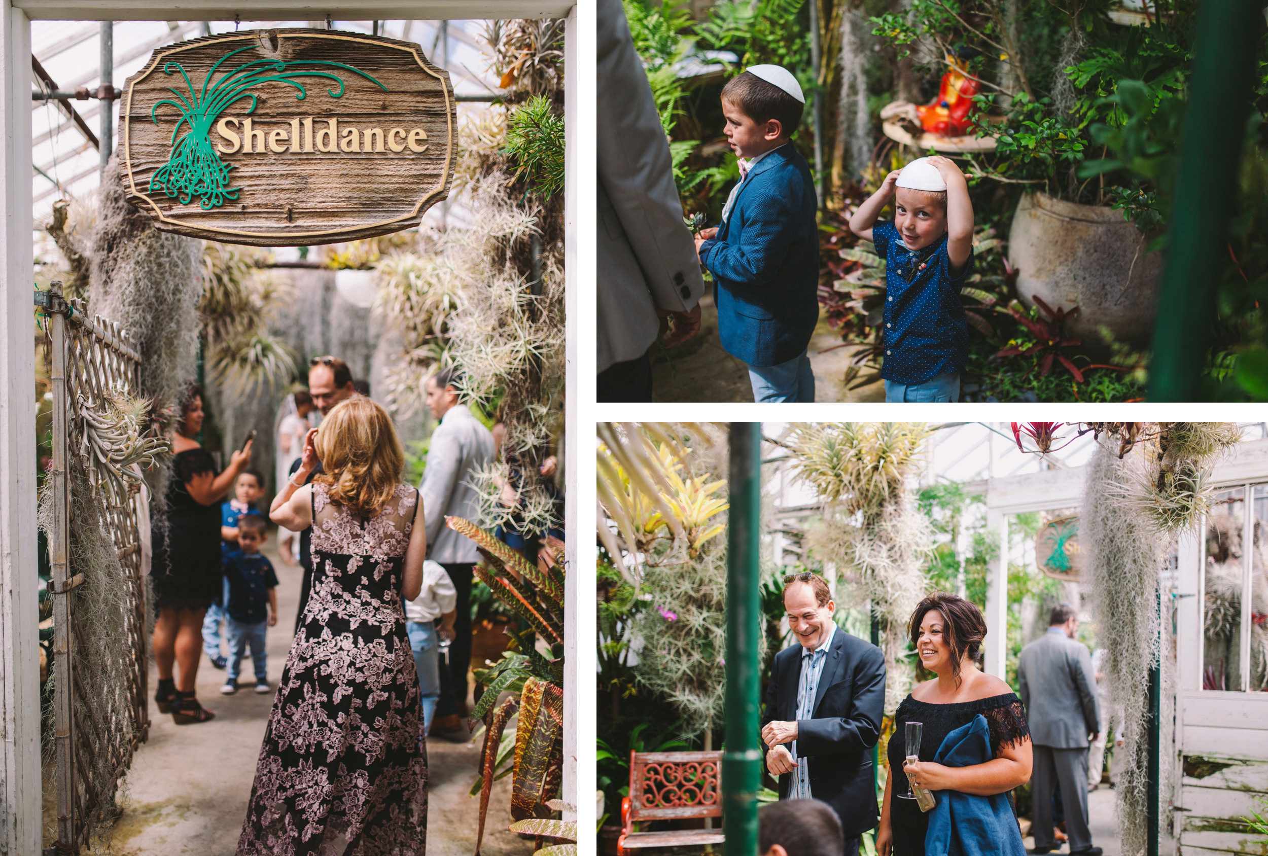 Shelldance Orchid Gardens Modern Jewish Wedding