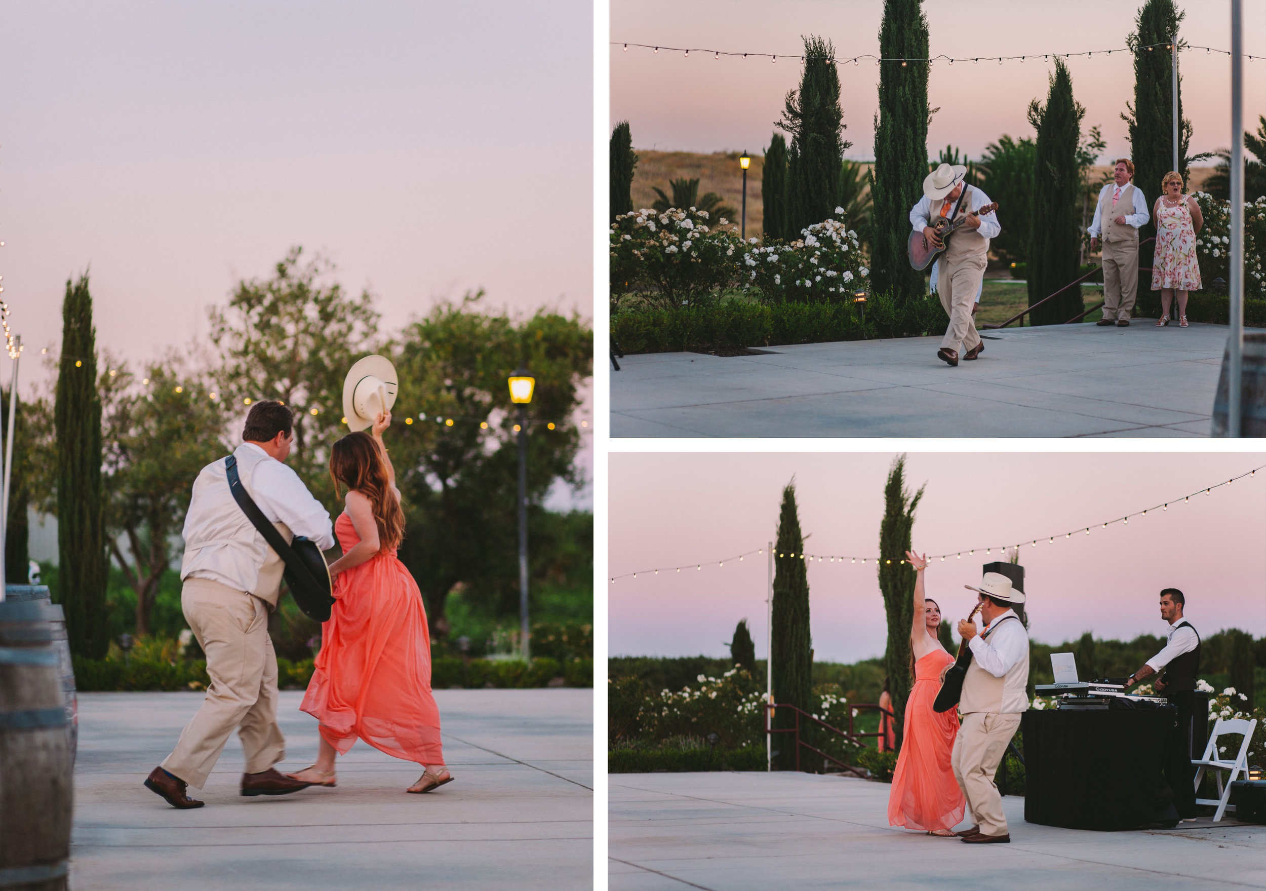 Bridal Party Dancing Entrance at Wedding Reception - Toca Madera Winery Wedding