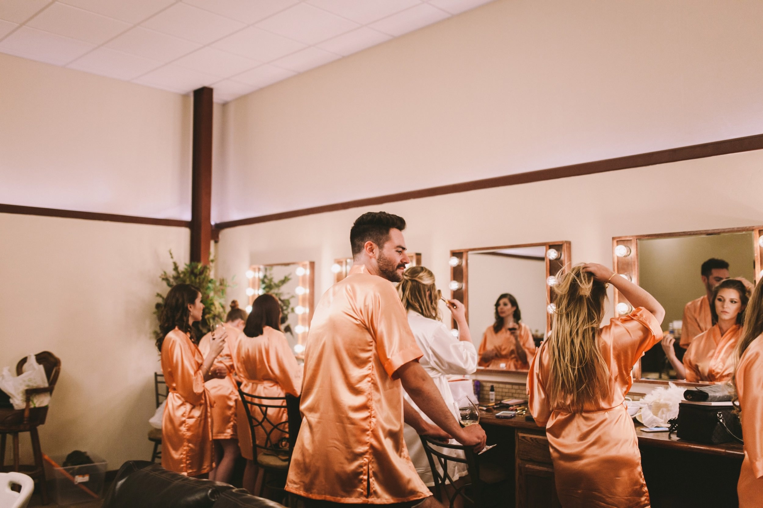 Toca Madera Fresno Wedding Prep in the Bridal Suite