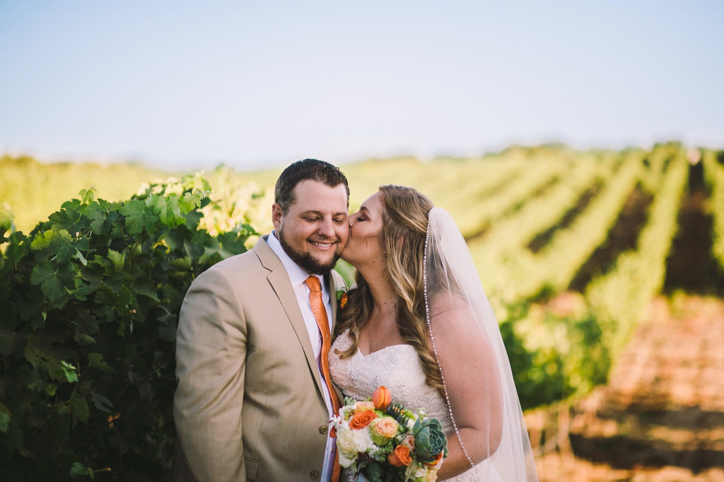 Toca Madera Winery Vineyard Wedding Portraits
