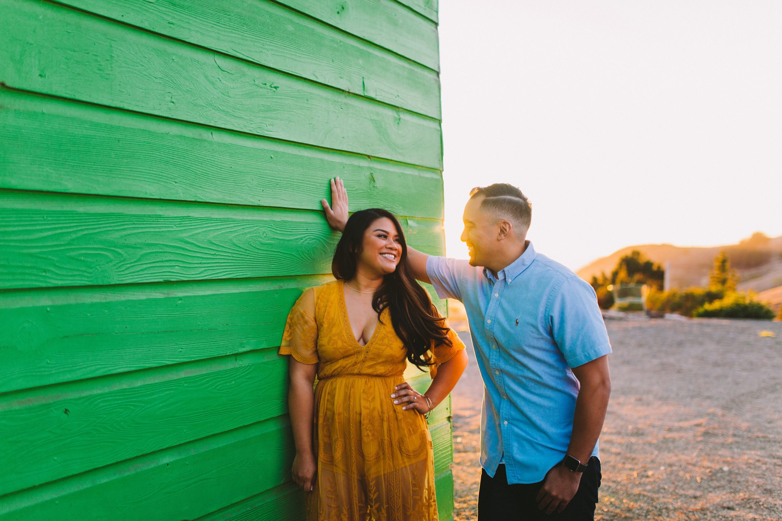 Shelldance Orchid Gardens Greenhouse Engagement Session Pacifica 49.jpg