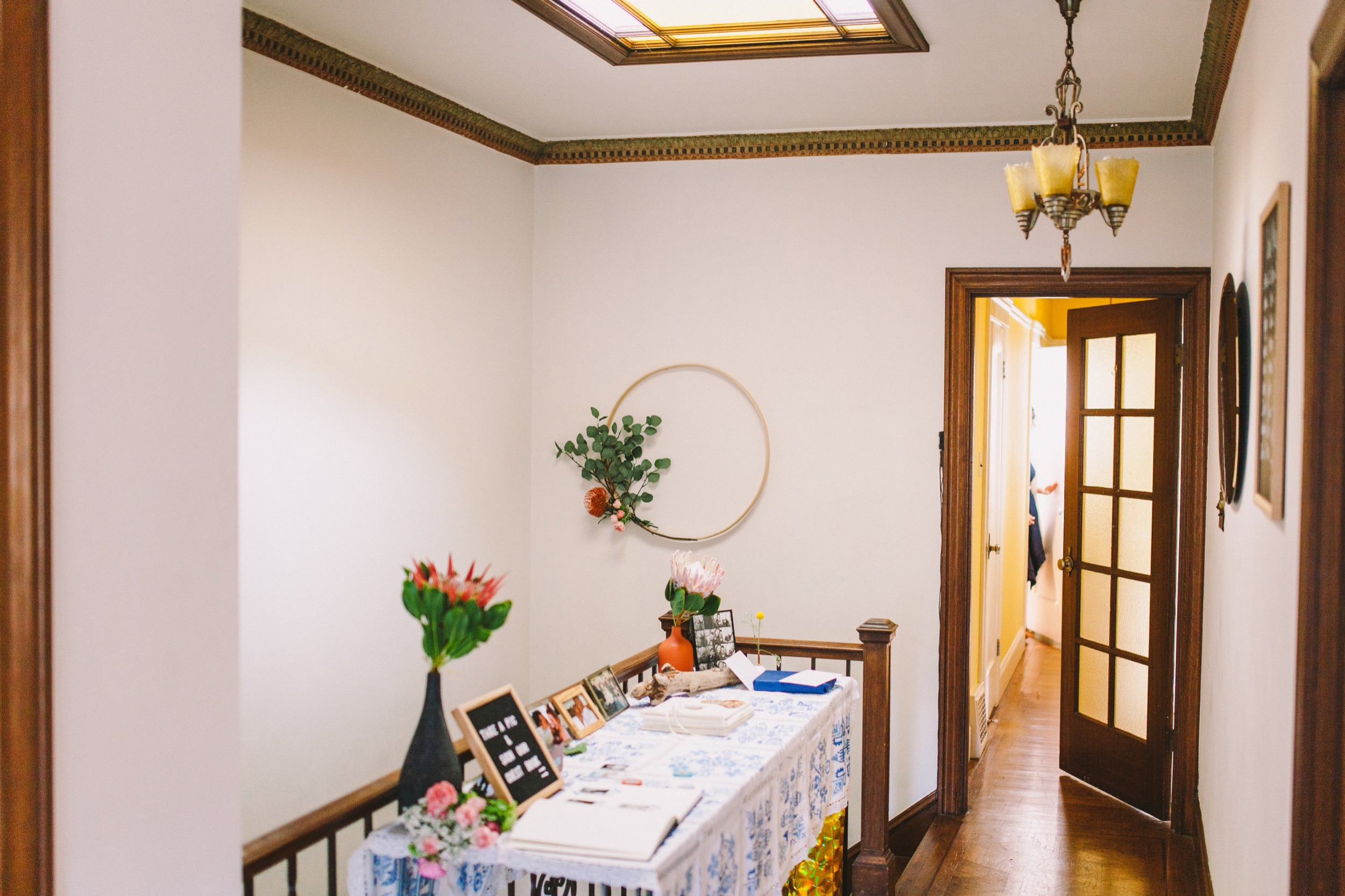 Wedding in Rental Apartment San Francisco