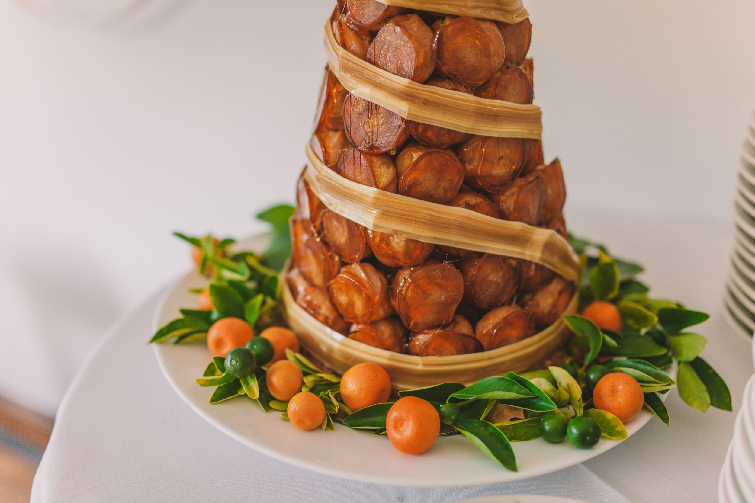 Stag Dining Group Wedding Croquembouche