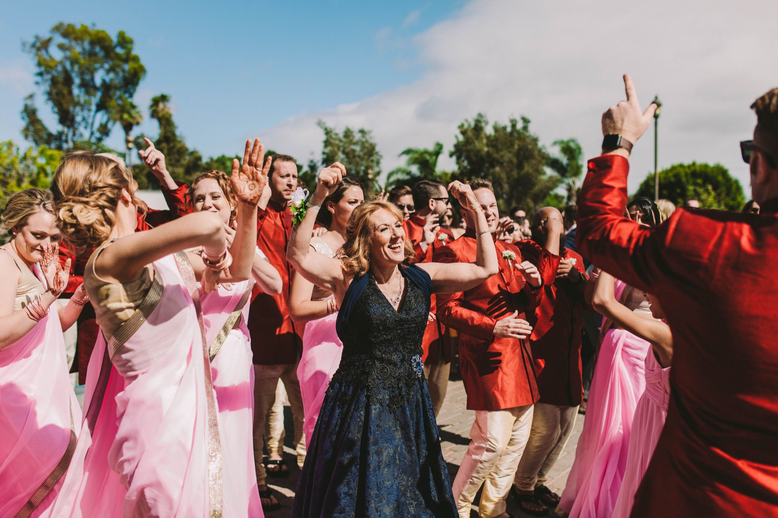 2 Old Ranch Country Club Indian Fusion Wedding Photography in Seal Beach 15.jpg