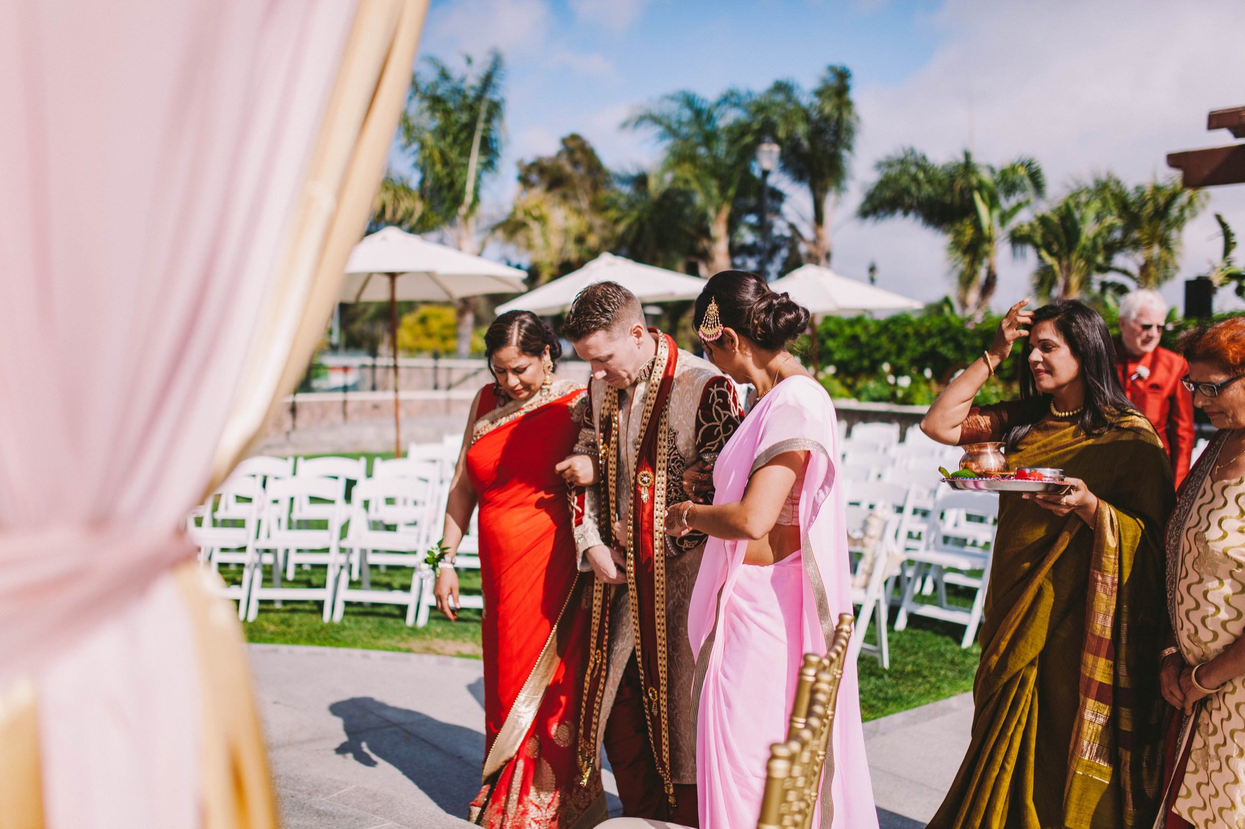 2 Old Ranch Country Club Indian Fusion Wedding Photography in Seal Beach 23.jpg