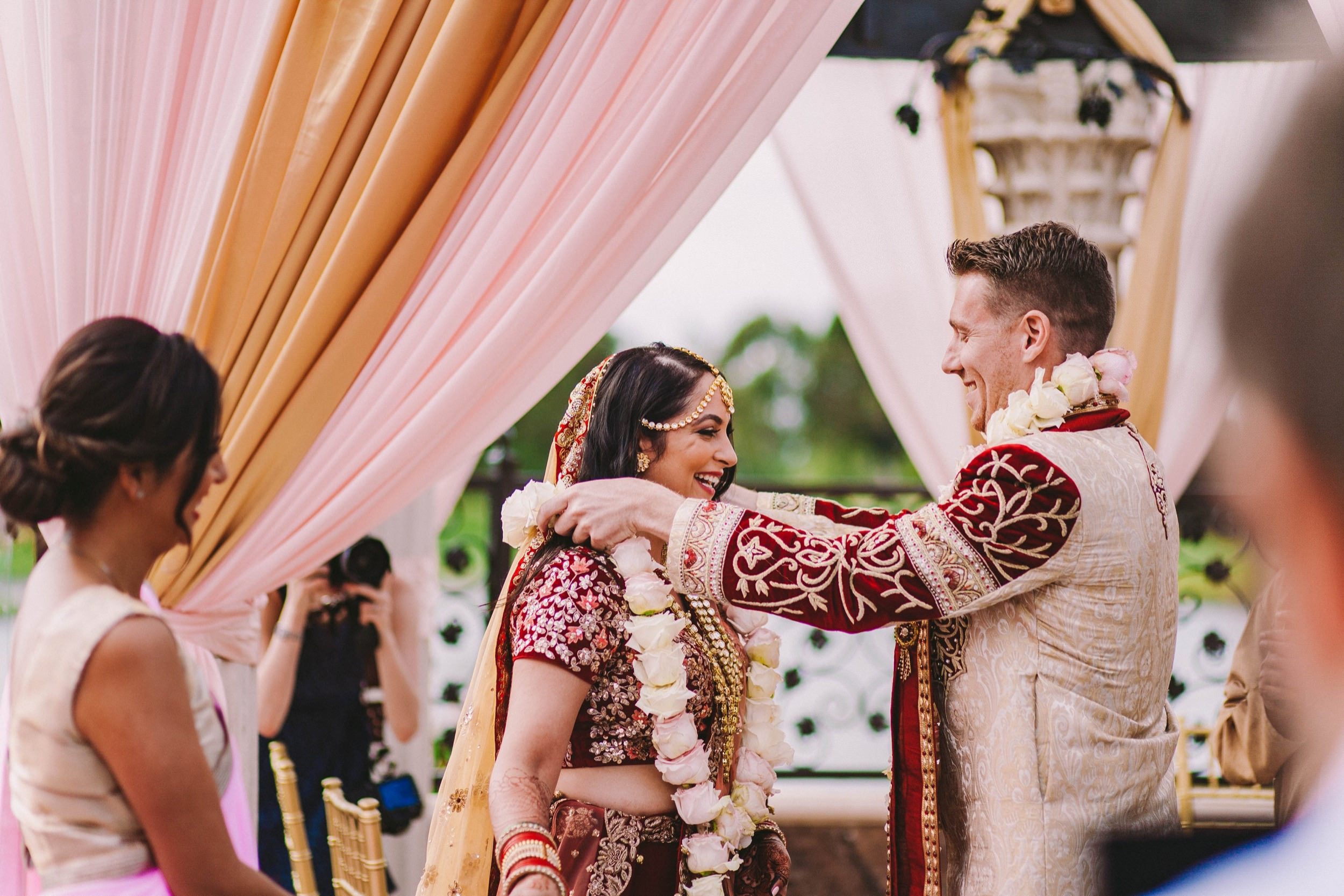 2 Old Ranch Country Club Indian Fusion Wedding Photography in Seal Beach 32.jpg