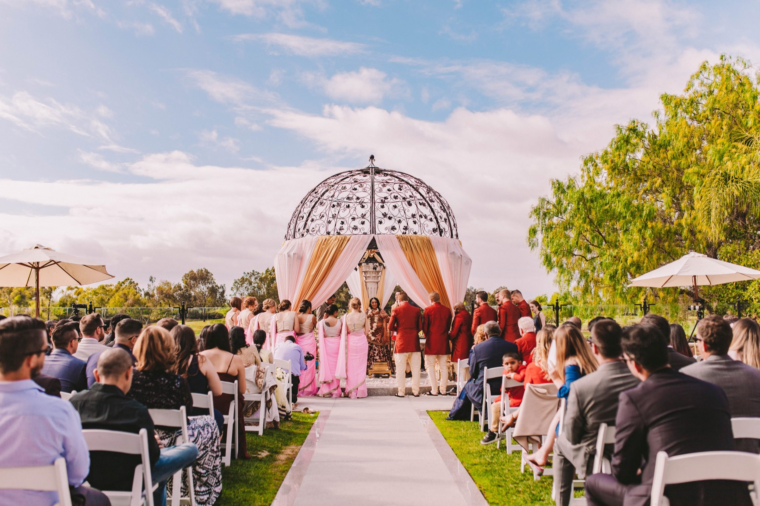 2 Old Ranch Country Club Indian Fusion Wedding Photography in Seal Beach 37.jpg