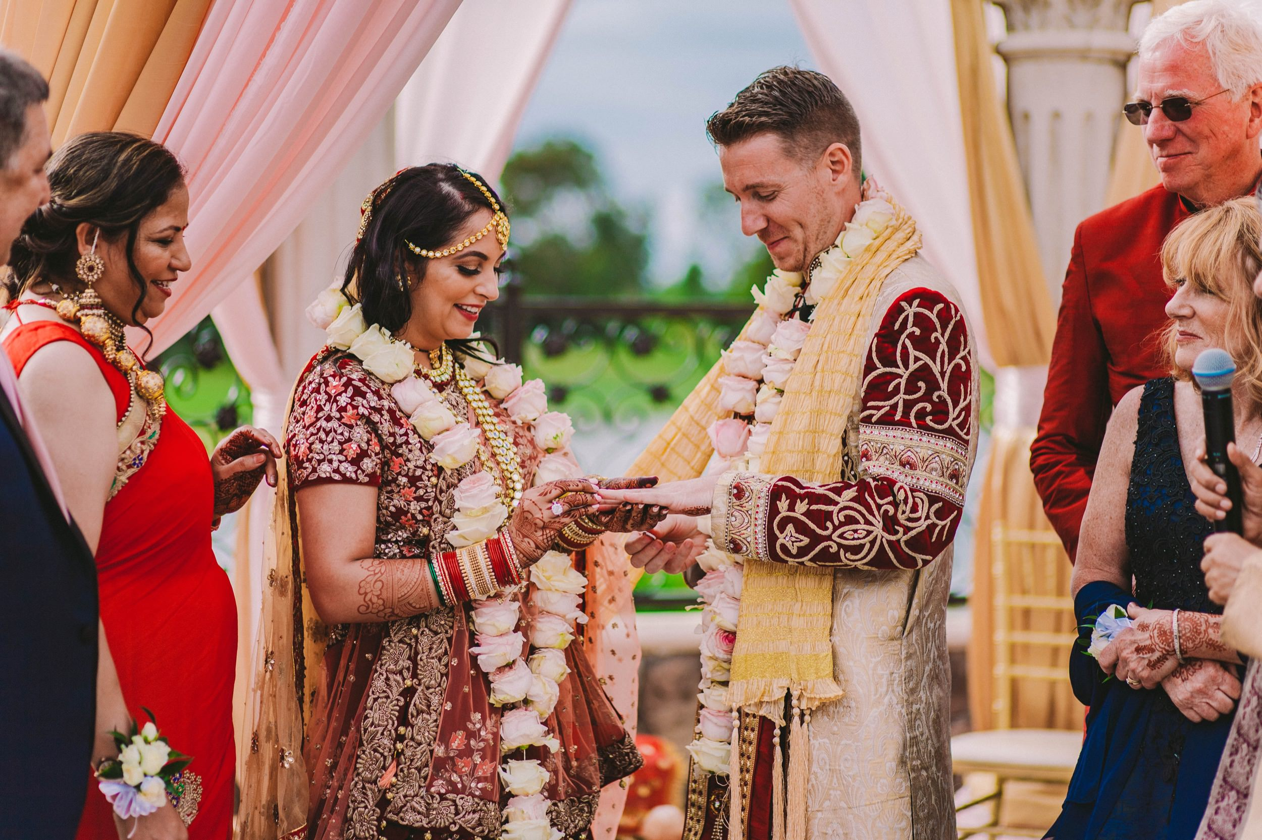 2 Old Ranch Country Club Indian Fusion Wedding Photography in Seal Beach 42.jpg