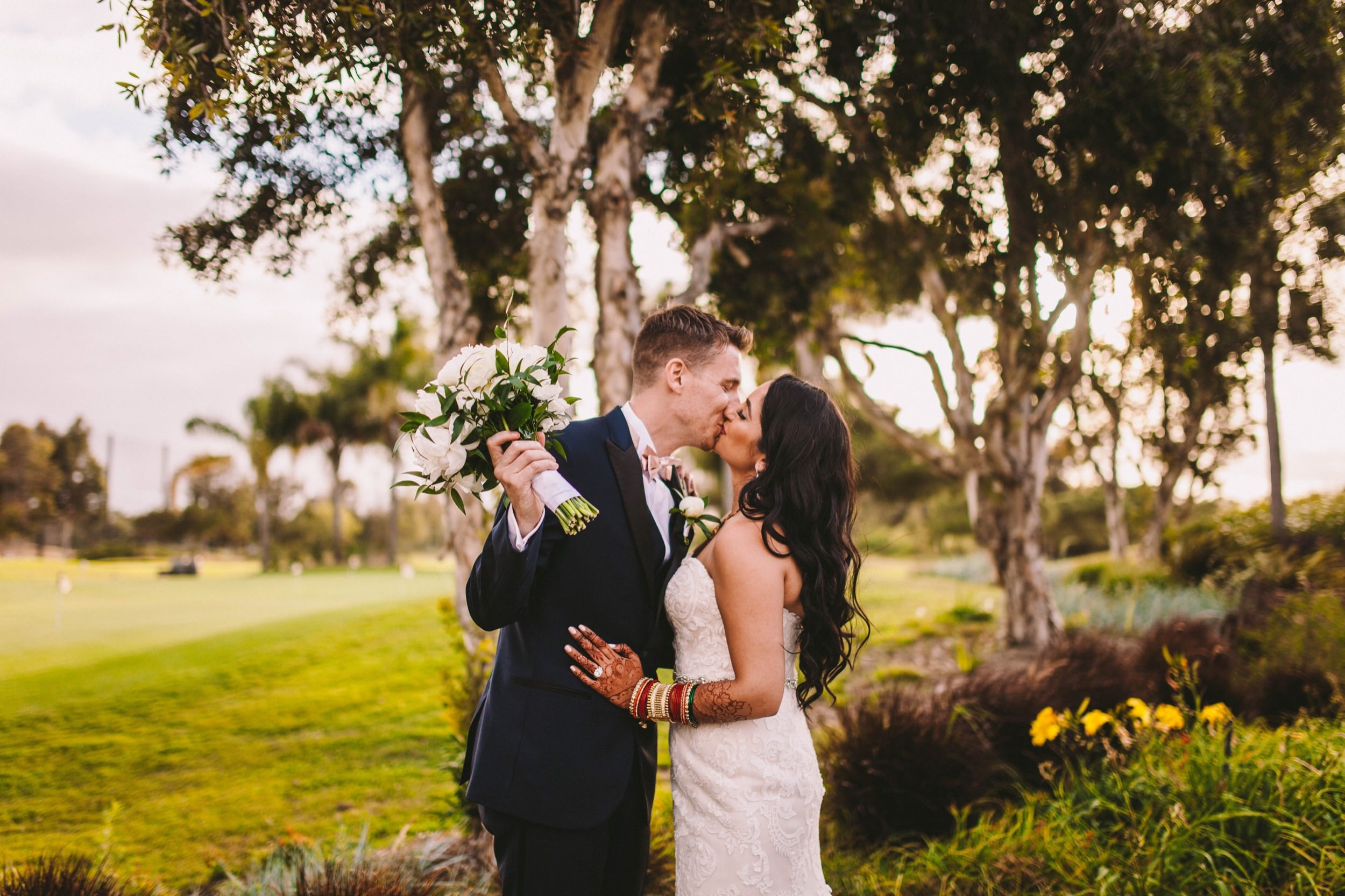 2 Old Ranch Country Club Indian Fusion Wedding Photography in Seal Beach 61.jpg