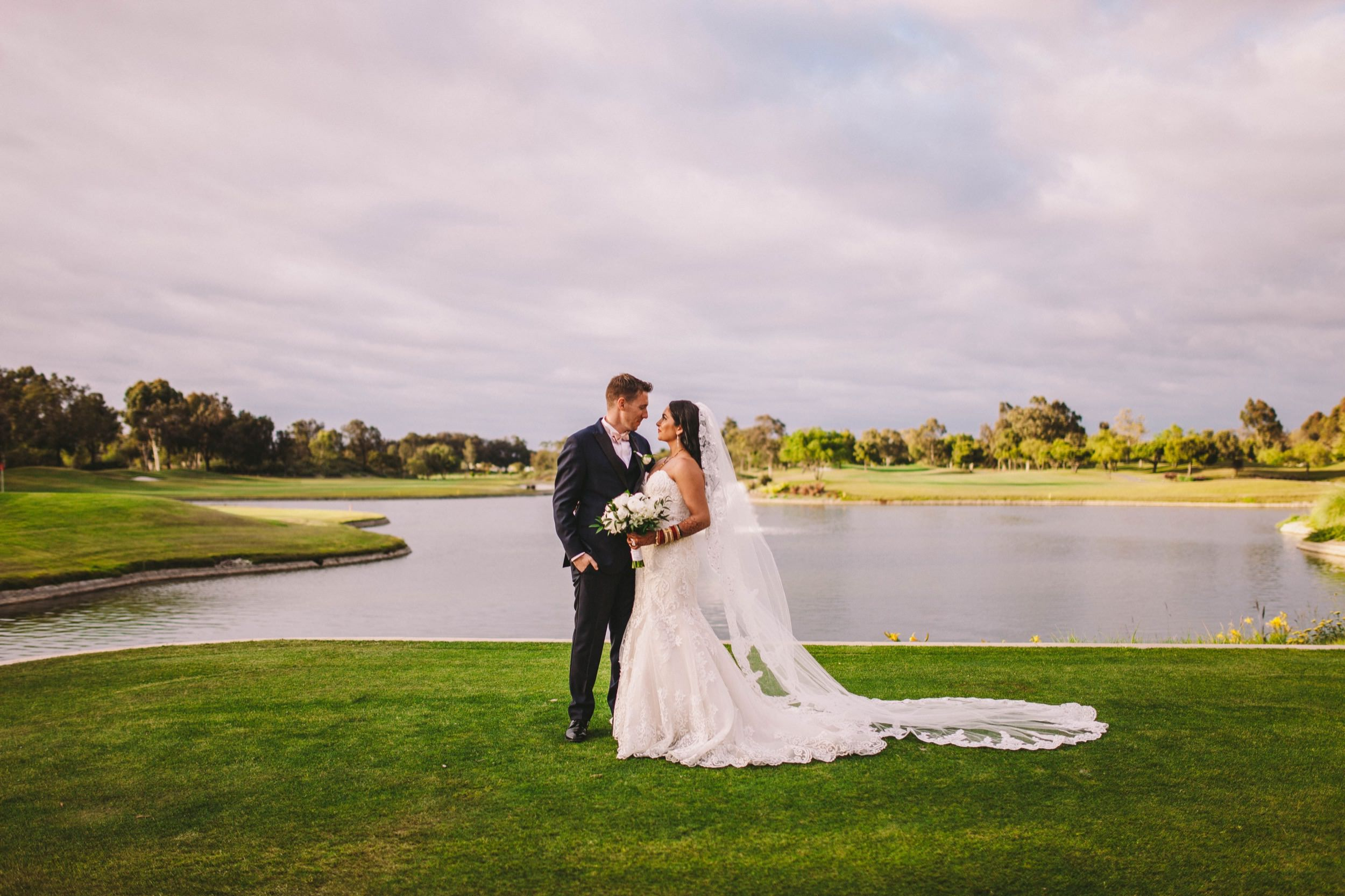 2 Old Ranch Country Club Indian Fusion Wedding Photography in Seal Beach 62.jpg
