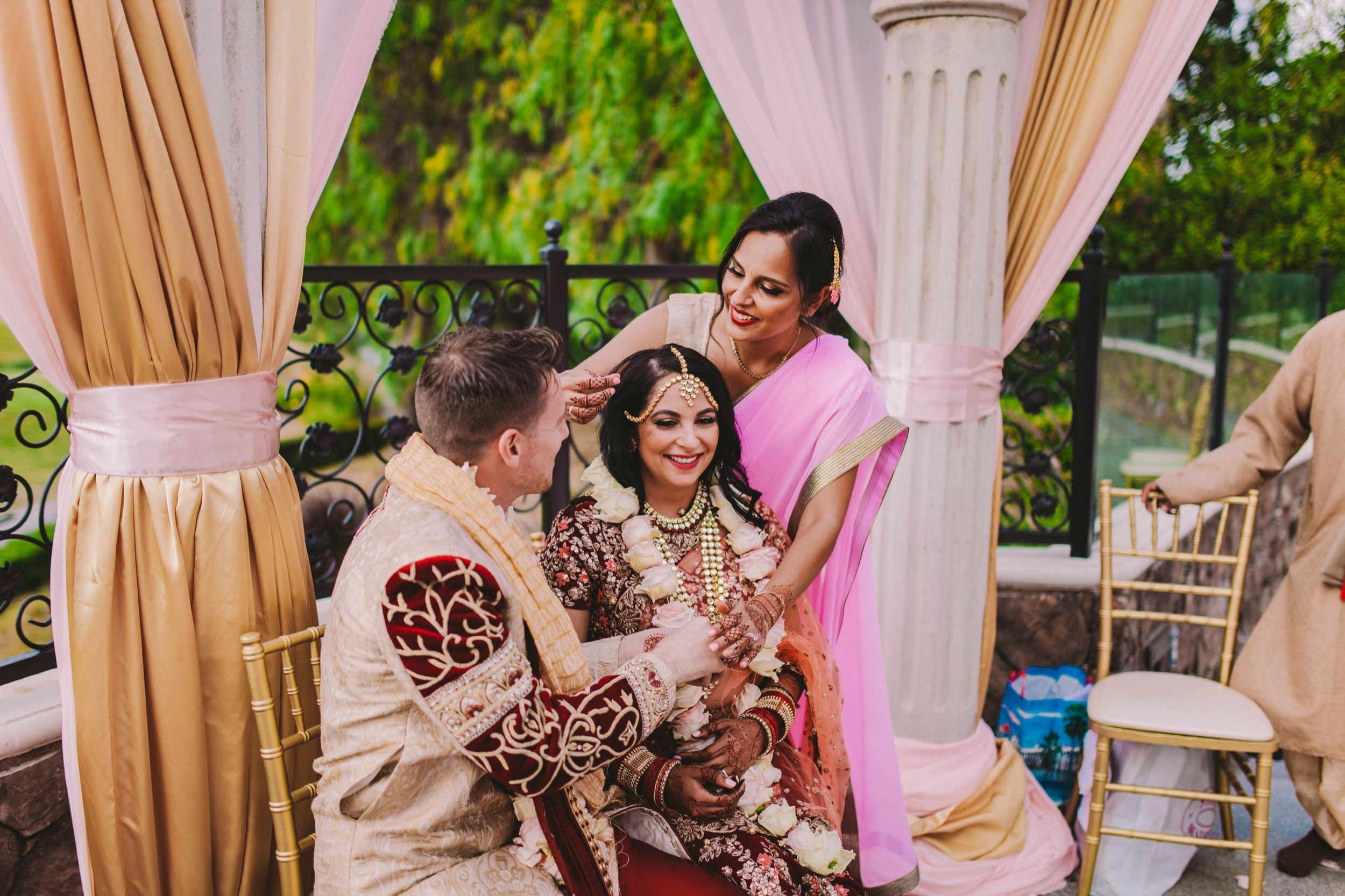 Old Ranch Country Club Orange County Indian Fusion Wedding Photography -379.jpg
