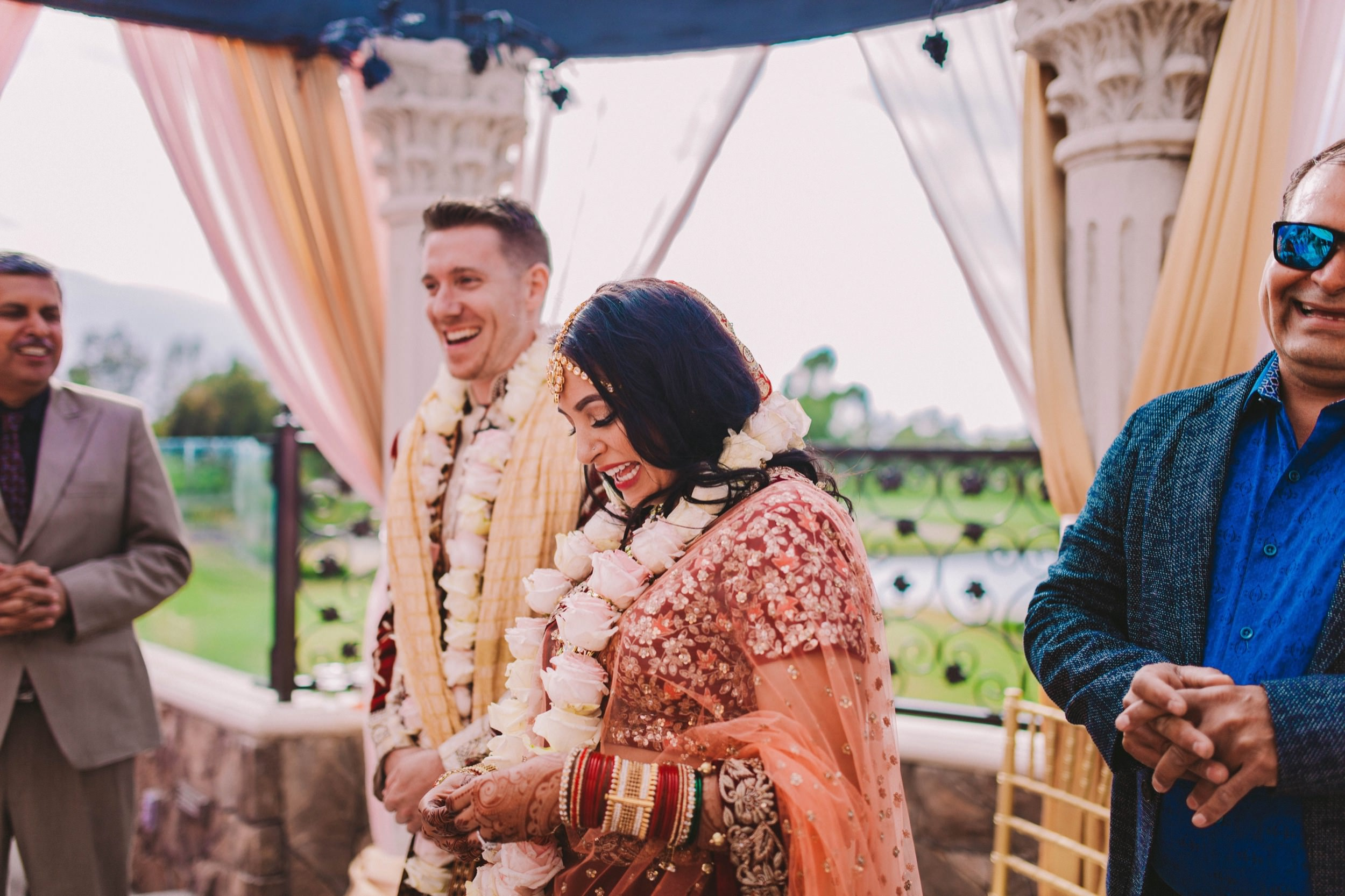 Old Ranch Country Club Orange County Indian Fusion Wedding Photography -370.jpg