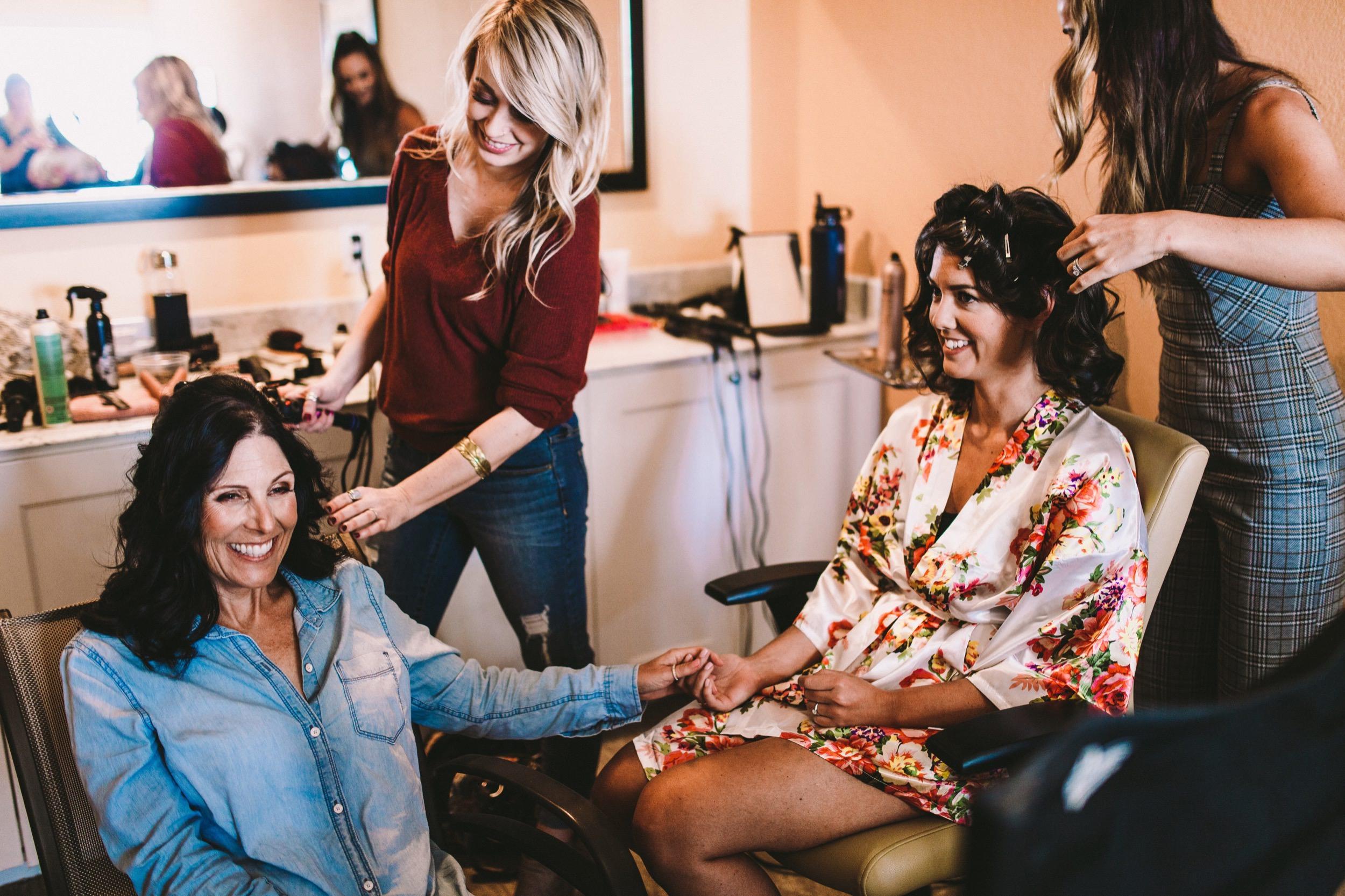 Leela Cobb Wedding Hair Stylist SoCal