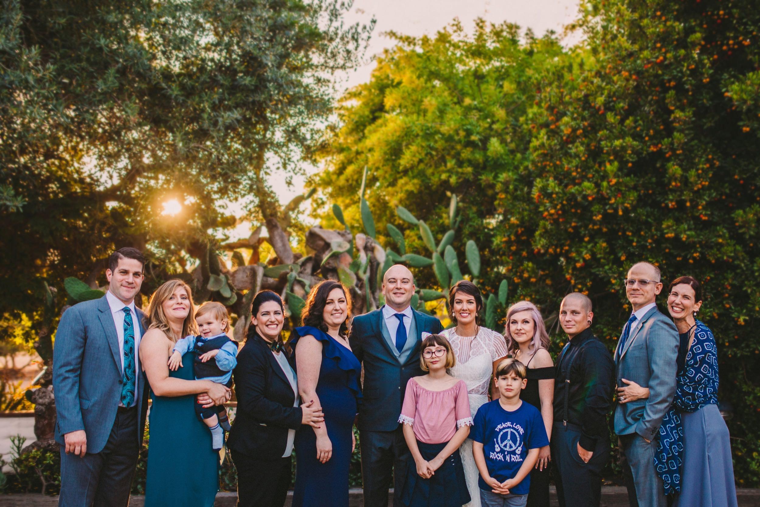 Family Group Shot at The Old Rancho