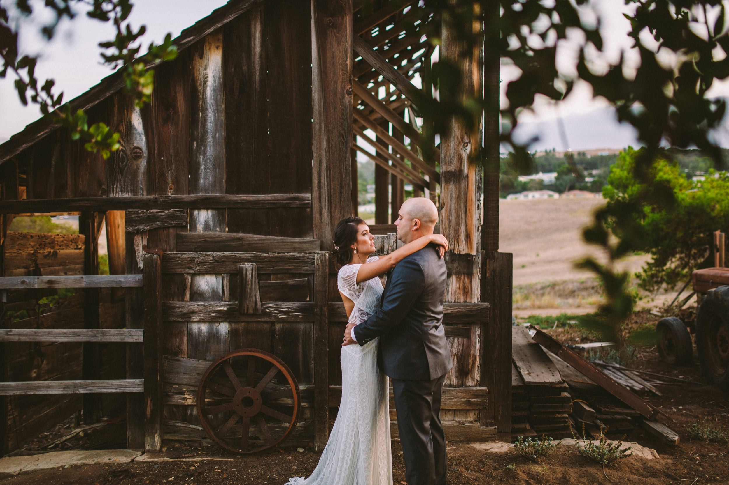 Rustic Barn Wedding Photography in Carlsbad