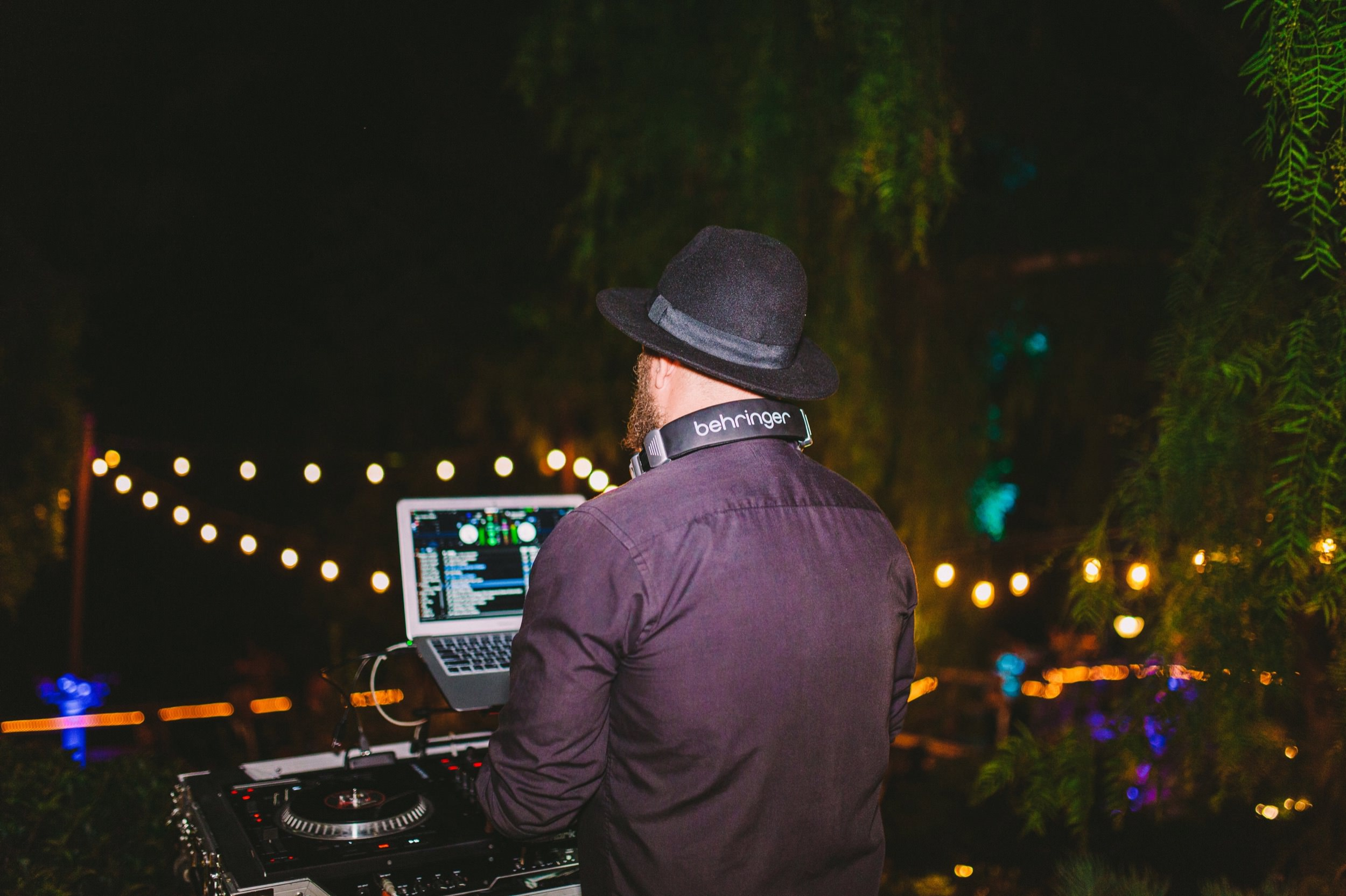 San Diego's Best DJs DJ Company at Carlsbad Wedding
