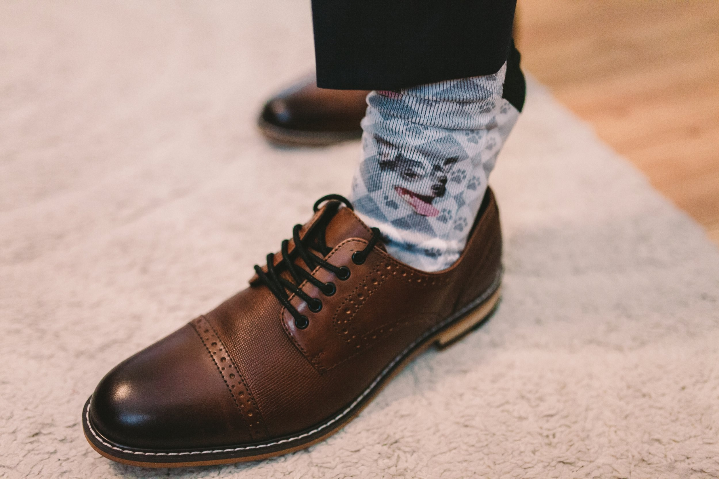 Pet Chihuahua Wedding Day Socks
