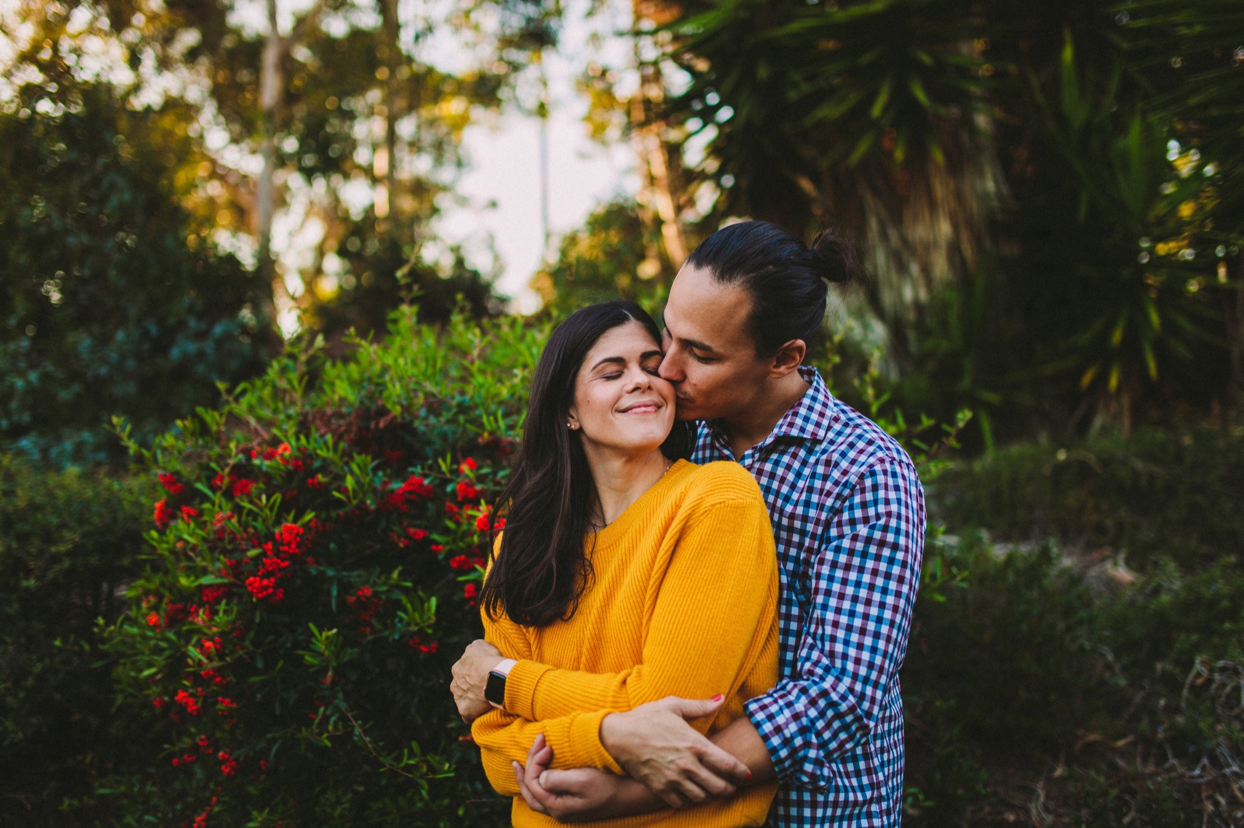 Winter Engagement Shoot in San Diego