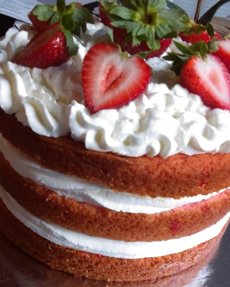 Naked Strawberry Shortcake