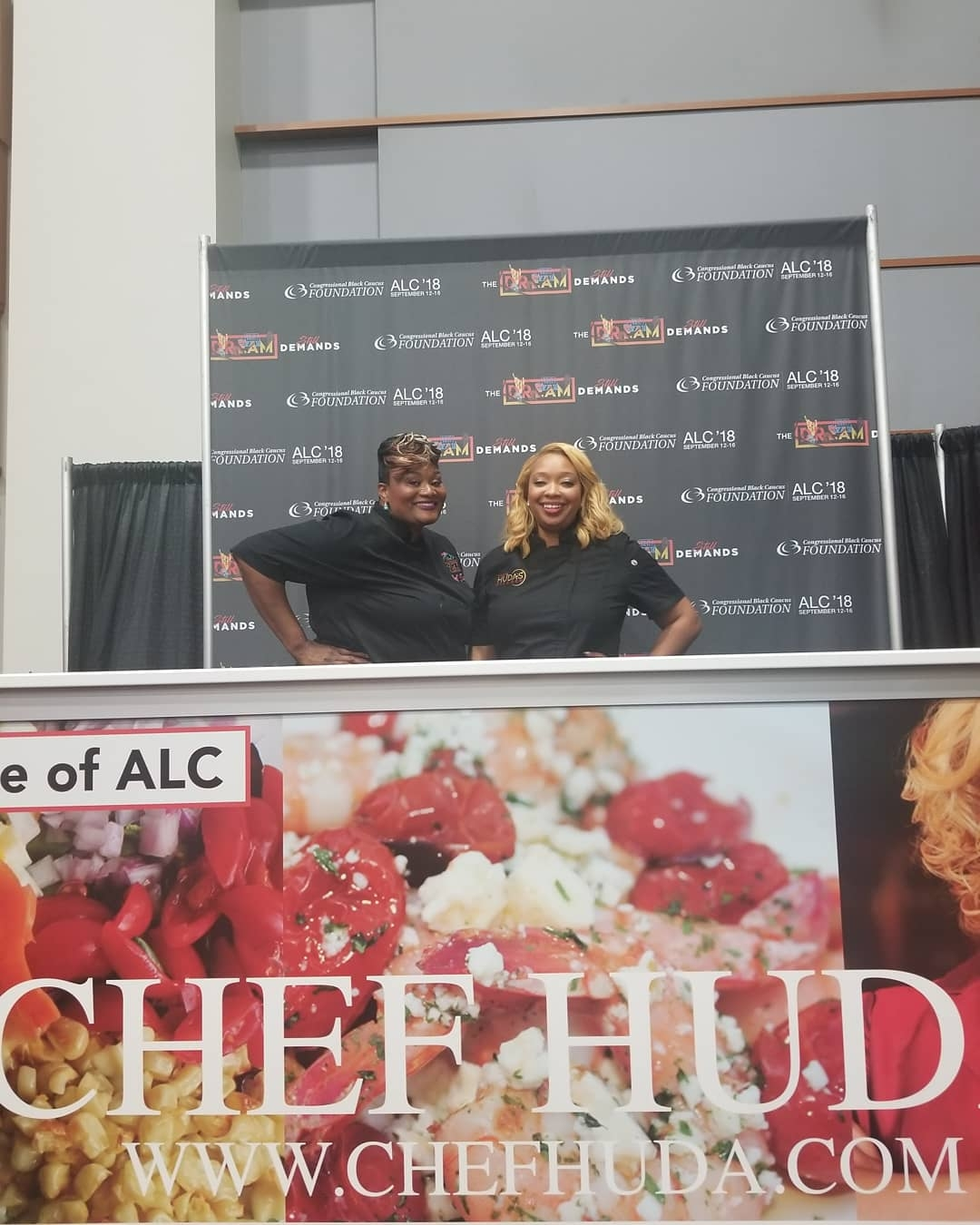 The Congressional Black Caucus Taste of ALC with Celebrity Chef Huda -