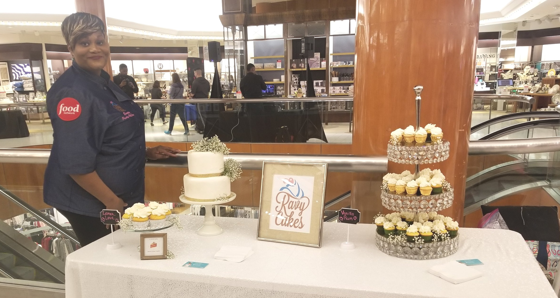 Bridal Registry event at Macy's Fashion Center Pentagon City Mall. -