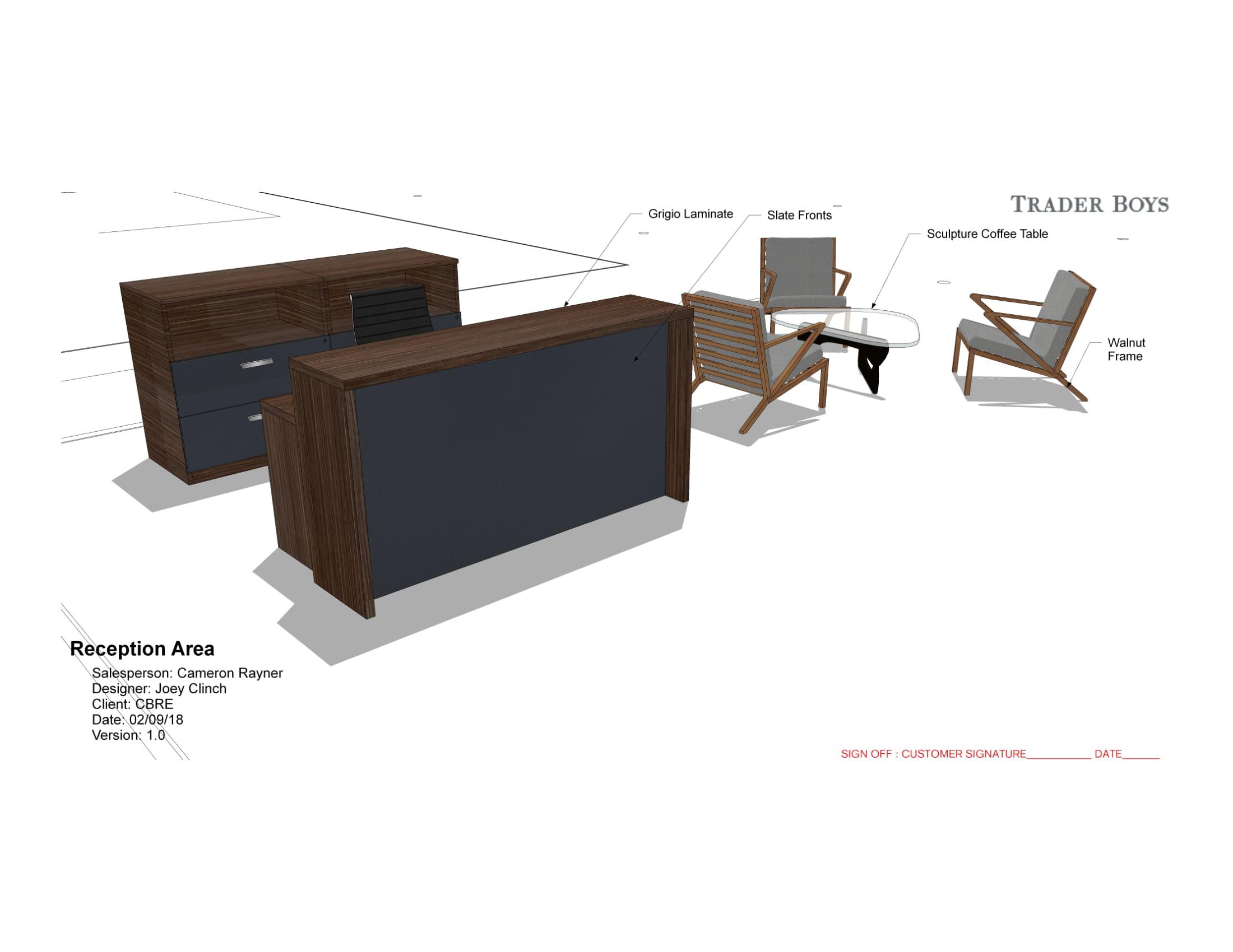 Furniture Portfolio Pozzy Designs