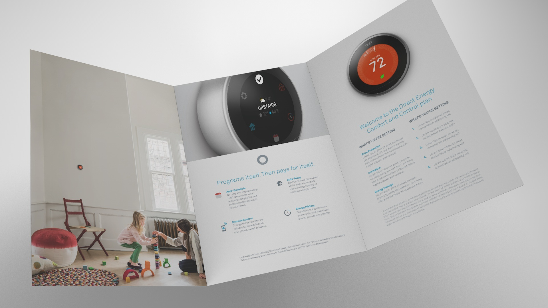 NEST - digital and print production, brand guidelines