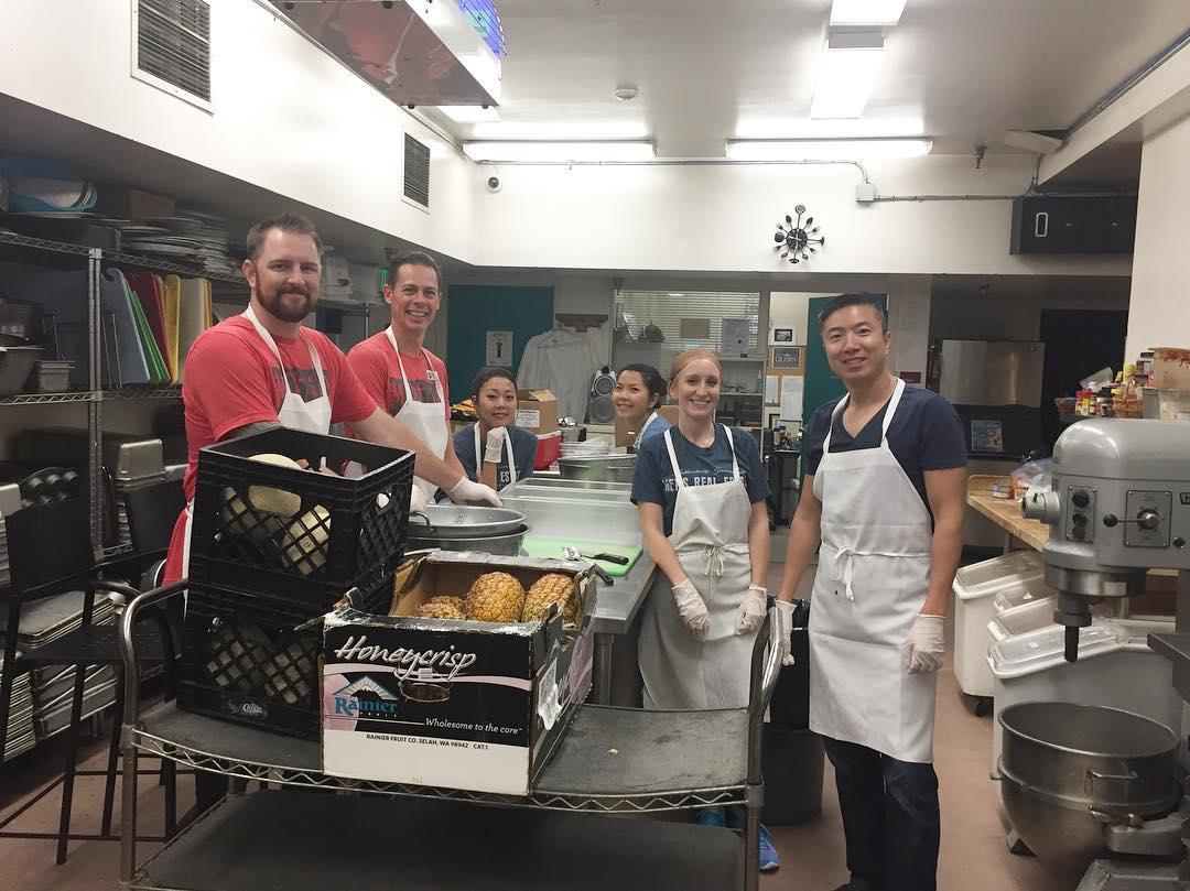 Food Prep with City Team San Jose, 2017