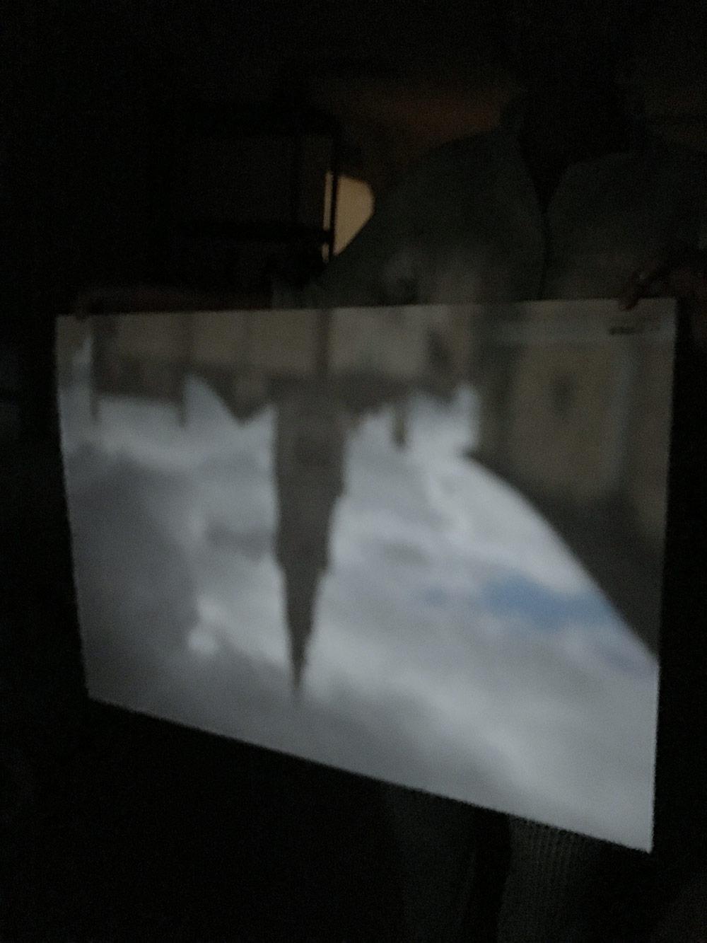 Camera obscura projection,Rita Rodner
