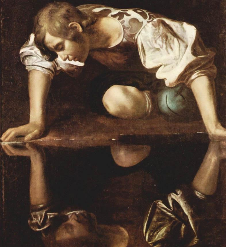 Caravaggio, Narcissus