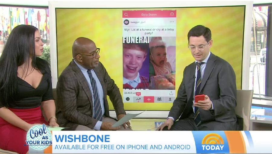 - Wondering what all those apps on your child's smartphone do? Jason Tanz of Wired magazine joins TODAY with the scoop on the hottest apps your kids are using, including Snapchat, Prisma, Wishbone and Houseparty.Watch Video