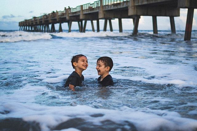 My boys. They don't know what it's like to exist without each other and I hope that never, ever changes. ❤️ -  swipe to the end for the BEST outtake 🤣 • • •  #florida #floridian #jaxbeach #igersjax #beach #duval #brothers #bestfriends #siblings #beachphotography #seekthesimplicity #flashesoflight #flashesofdelight #thatsdarling #thatsdarlingmotherhood #thehappynow #motherhood #motherhoodunplugged #motherhoodrising #motherhoodthroughinstagram #clickinmoms #letsclicksoc #momswithcameras #ilivewhereyouvacation #childhoodunplugged #kidsforrreal #pixel_kids #jj_its_kids #magicofchildhood #devonejonesphotography