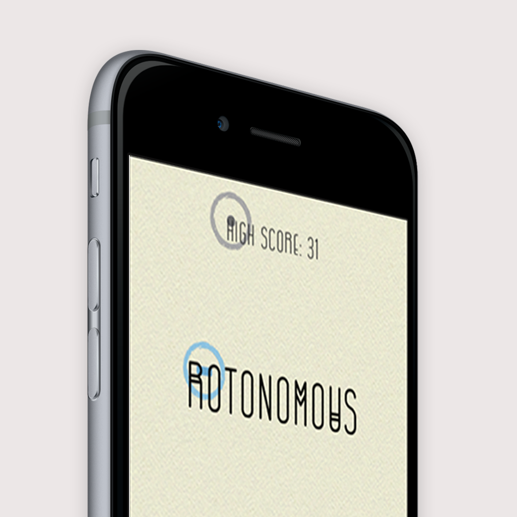 Final redesigned aesthetic for Rotonomous.