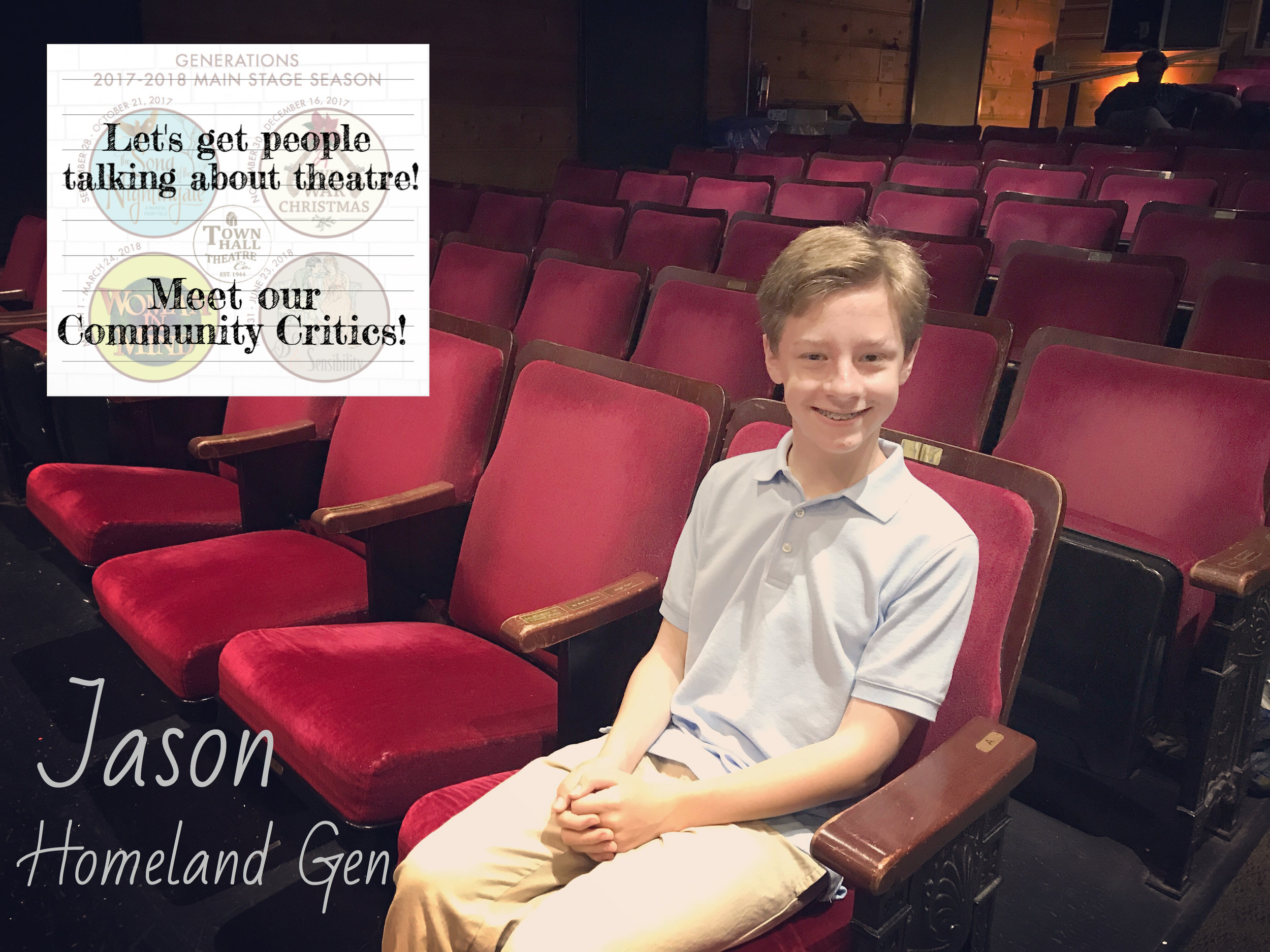 Jason - Bio coming soon!READ WHAT JASON HAS TO SAY ABOUT OUR UPCOMING SEASON!READ WHAT JASON HAS TO SAY ABOUT THE SONG OF THE NIGHTINGALE!READ WHAT JASON HAS TO SAY ABOUT WOMAN IN MIND!