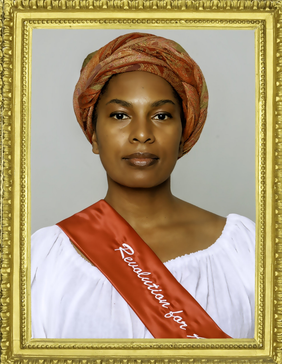 Kimberly Ridgeway as Marianne Angelle in The Revolutionists at Town Hall Theatre