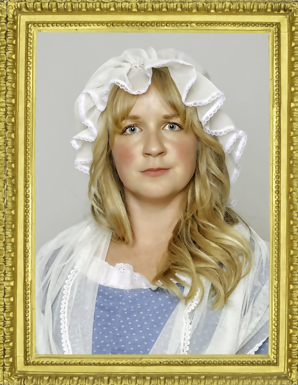 Heather Kellogg plays Charlotte Corday, The Angel of Assassins
