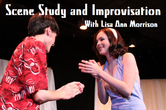 WORKSHOP 1: Scene Study & Improvisation—Students will study with local actor and teaching artist, Lisa Ann Morrison to develop acting skills through both scripted scene study and improvisation. Class Listing: Summer Workshop 1 -