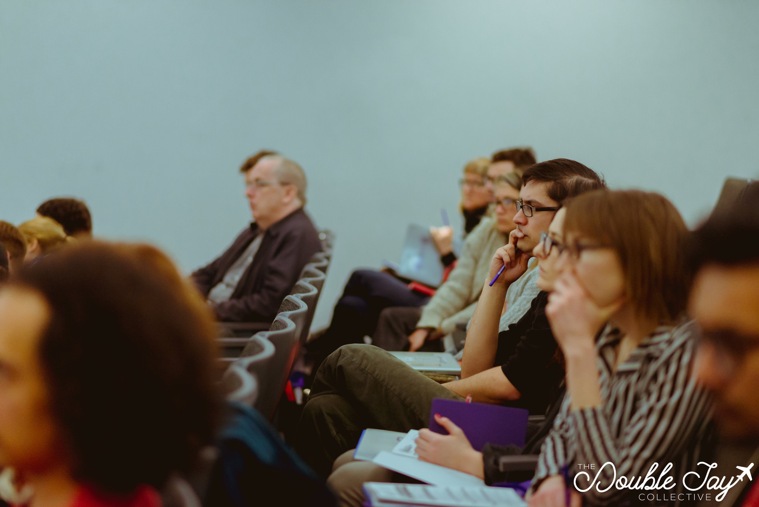 All weekend, the conference continuously maintained an attentive and engaged audience.